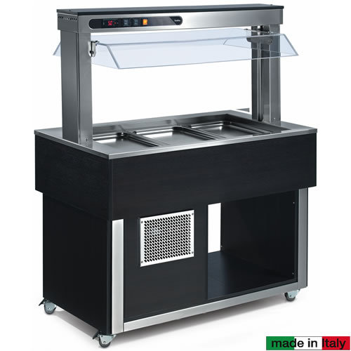 Isola buffet refrigerata IBR3TOP