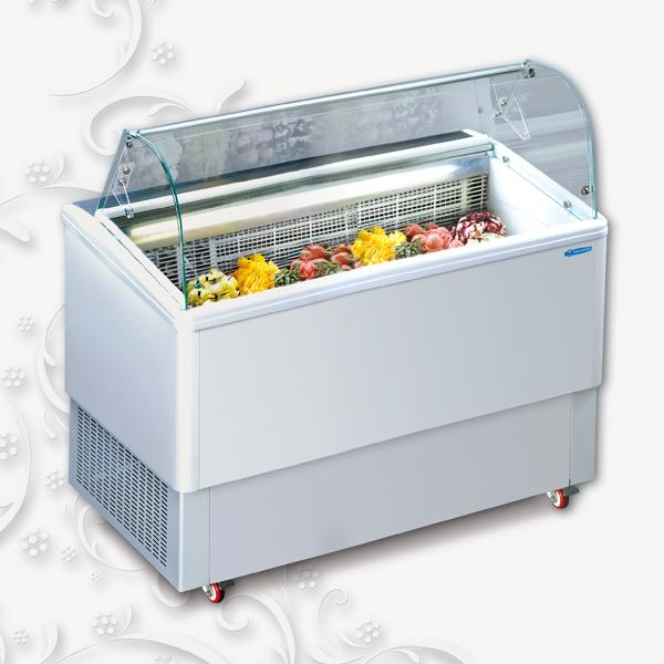 Vetrina gelato Classik 6 RI