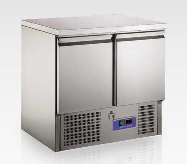 Saladette refrigerata 901 SS TOP