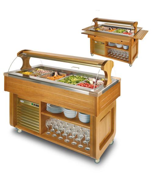 Buffet freddo 4 vasche